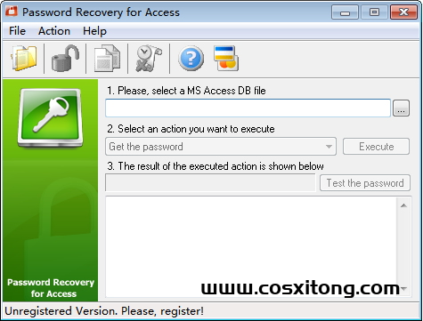 Password Recovery for Access官方版 v1.0官方版下载