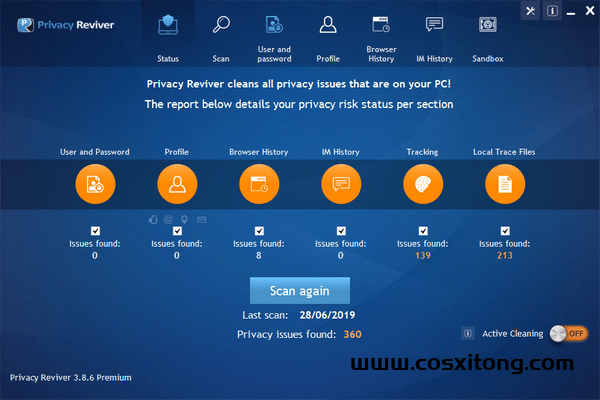 Privacy Reviver Premium官方版 v3.9.2官方版下载